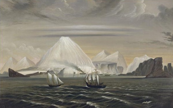 Painting of Desolation Island, Indian Ocean